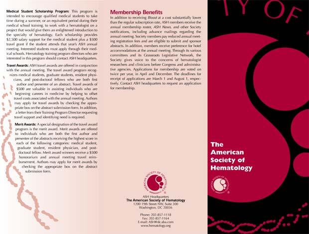 ASH Brochure