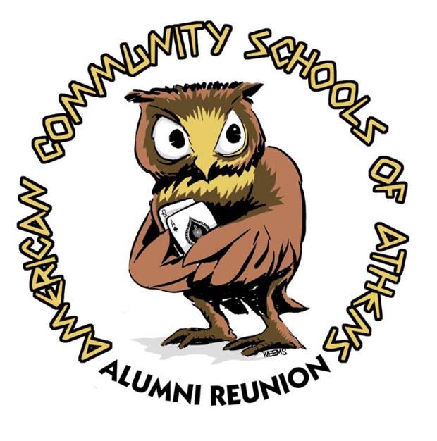 American Community Schools Alumni Shirt by Erik Weems