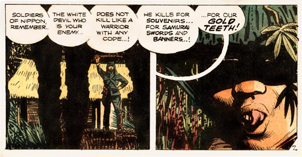 Alex Toth from White Devil Yellow Devil